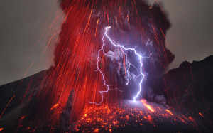 Terrible volcanoes like this could be typical.