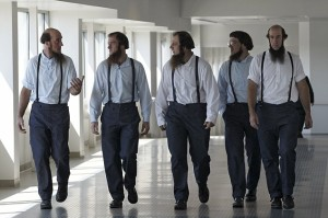 The jurors leave the courtroom after today's verdict.
