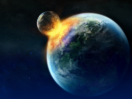 Moon Killing Earth