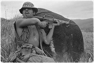Waste ammo just like our boys in Pearl Harbor and the Viet Nam!