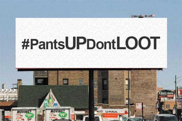 Pastor Lonnie asks Ferguson residents to pull up pants and study calculus.