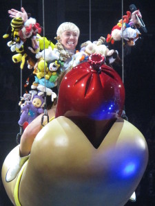 The 'Miley Cyrus bondage video' has been removed from the upcoming smut fest in NYC thanks to Brother Lonnie and your prayers! (image source: By karina3094 (Flickr: Miley Cyrus-Bangerz Tour) [CC BY-SA 2.0 (http://creativecommons.org/licenses/by-sa/2.0)], via Wikimedia Commons
