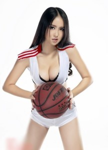 A group of sexy basketball (3