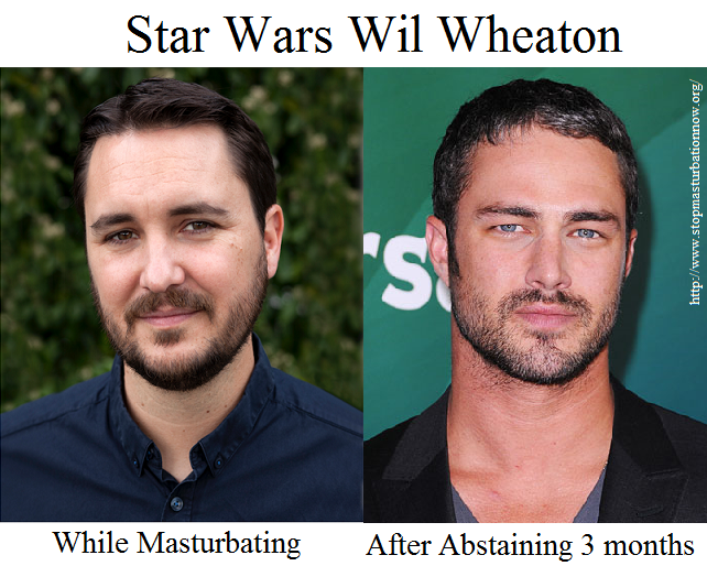 Star Wars Wil Wheaton Quits Masturbating: Finds New Life