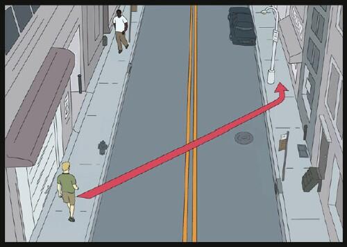 How to Avoid a Masturbator on the Street