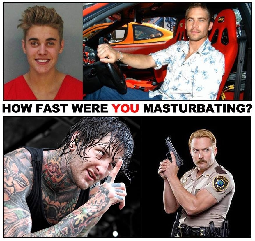 How Fast Were YOU Masturbating?