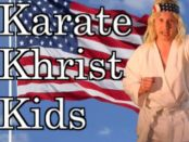 The best way to keep your kid's hands busy is reading the Bible, or karate.