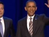 Will Farrell Shows Obama 2 Girls 1 Can