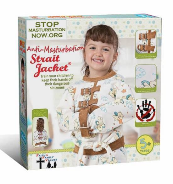 Introducing the STOP Masturbation NOW Anti-Masturbation Strait Jacket®