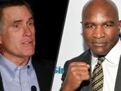 Mitt Romney to Fight Evander Holyfield